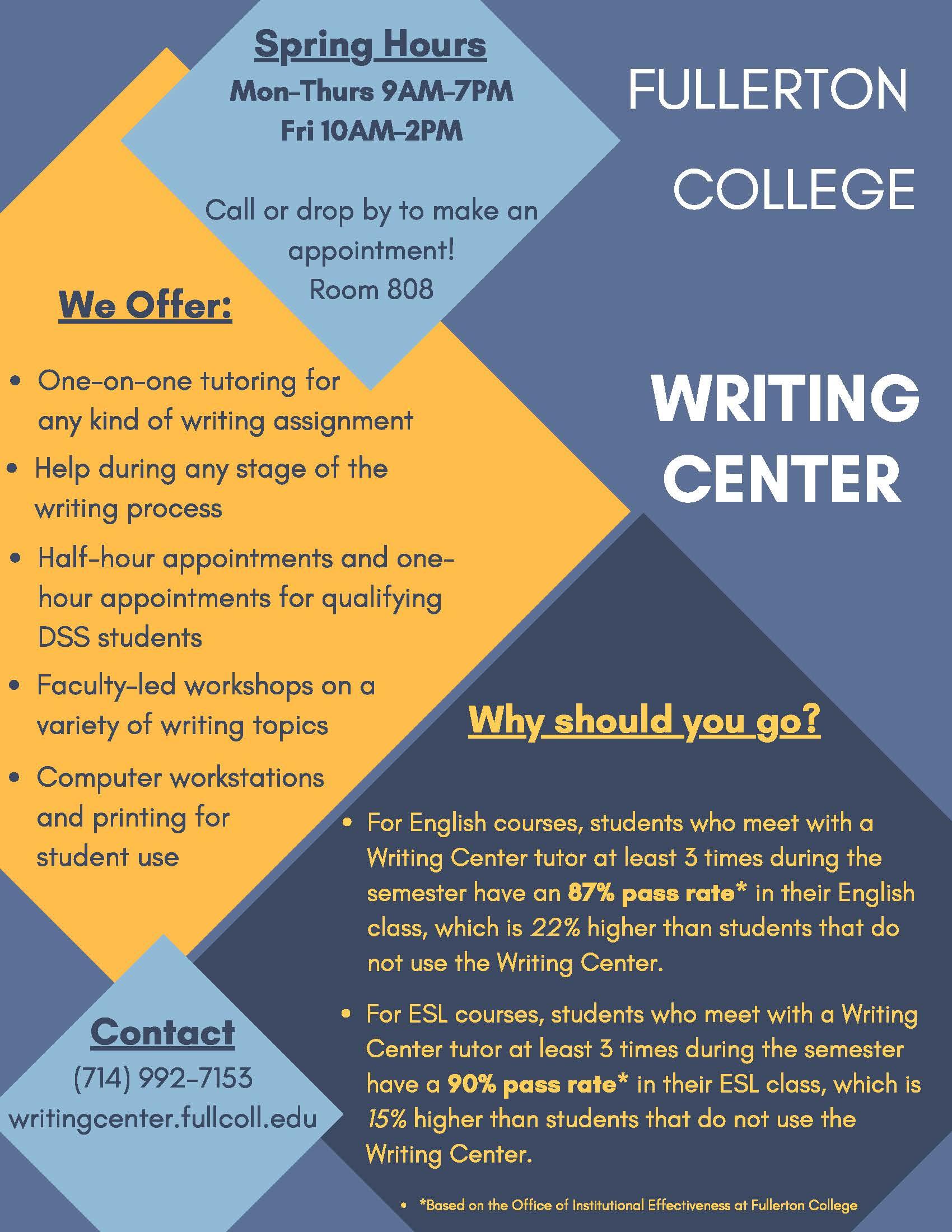 Essay help center