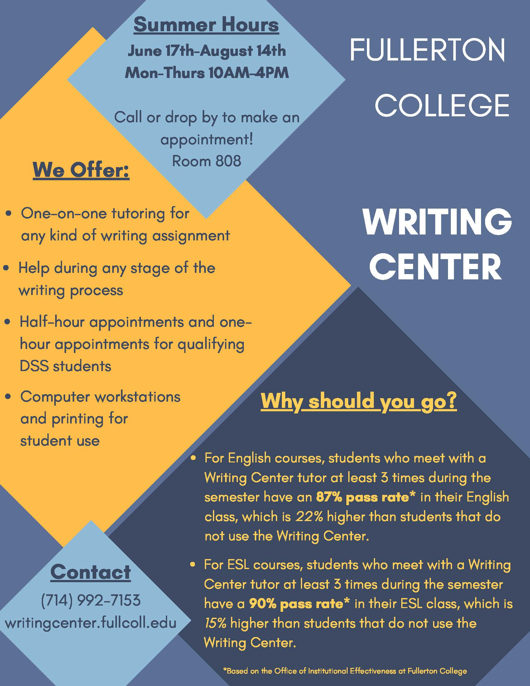 Uwo essay help center